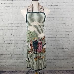 Other - 💎 Hand made country scene apron